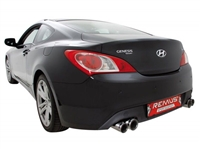 Remus Racing Cat-Back Sport Exhaust Genesis Coupe, 2.0T V6, type BK20/BK38, 2011=>