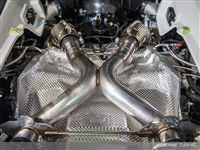 AWE Tuning McLaren 650S Performance Exhaust - Black Tips