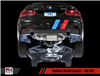 AWE Tuning BMW F3X 340i Touring Edition Axle Back Exhaust -- Diamond Black Tips (90mm)
