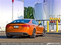 AWE Tuning Audi S5 3.0T Touring Edition Exhaust System -- Polished Silver Tips (102mm)