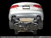 AWE Tuning Audi S4 3.0T Touring Edition Exhaust - Diamond Black Tips (90mm)