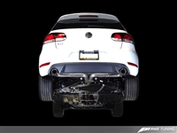 AWE Tuning Mk6 GTI Performance Catback - Chrome Silver Round Tips