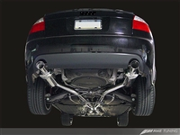 AWE Tuning B6 A4 3.0L Touring Edition Exhaust -- with Diamond Black Tips