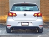 "AWE Tuning Golf TDI ""GTI Style"" Performance Exhaust - Diamond Black Slash Cut Tips"