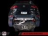 AWE Tuning VW MK7 GTI Track Edition Exhaust - Diamond Black Tips