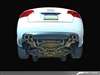 AWE Tuning Audi B7 A4 3.2L Track Edition Quad Tip Exhaust - Polished Silver Tips