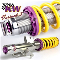 KW Coilover Kit V3, Audi A4 (8E/B6, 8H, QB6) Avant + Convertible; Quattro; all engines