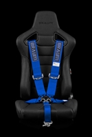 "Braum 5 Point 3"" SFI Approved Racing Harness - Blue"