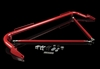 "Braum 48-51"" Universal Racing Harness Bar Kit - Red Gloss"