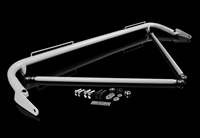 "Braum 48-51"" Universal Racing Harness Bar Kit - White Gloss"