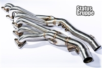 "Status Gruppe BMW E46 M3 01-06 / Z4M 06-08 S54 ""Cat-less"" Headers (Stainless Steel) New Version Fits LHD & RHD **"