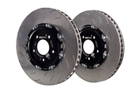 EBC Racing 2012+ Tesla Model S 2 Piece Floating Conversion SG Racing Front Rotors