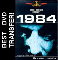 George Orwell's 1984 DVD Cover