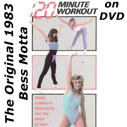 Fitness Music Dvd: ORIGINAL 20 Minute Workout DVD 1983 Bess Motta $9.99 BUY