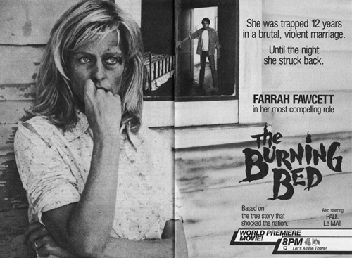 the burning bed The burning bed: farrah fawcett, paul le mat, richard masur, grace zabriskie, penelope milford, christa denton, james t callahan, gary grubbs, david friedman, david andrews, james hampton, virgil frye, isidore mankofsky, robert greenwald, carol schreder, jon avnet, rose leiman goldemberg, steve tisch, faith mcnulty: amazonca: video.