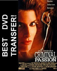 Criminal Passion DVD 1994