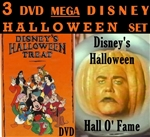 A Disneys Halloween Treat DVD Hall O Fame 1983 3 Disc Set
