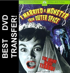 I Married A Monster From Outer Space DVD 1958