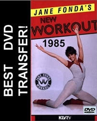 Jane Fonda's New Workout DVD 1985