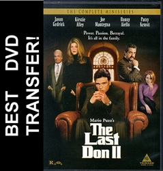 The Last Don 2 II DVD 1998