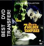 Legend of the 7 Golden Vampires DVD 1974