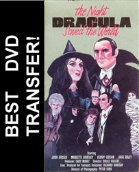 The Night Dracula Saved The World DVD 1979