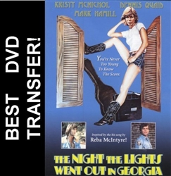The Night The Lights Went Out In Georgia DVD 1981