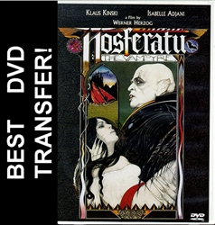 Nosferatu The Vampyre Vampire DVD 1979