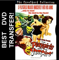 Playgirls And The Vampire DVD 1960