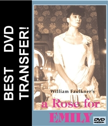 A Rose For Emily DVD 1983