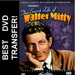 The Secret Life Of Walter Mitty DVD 1947
