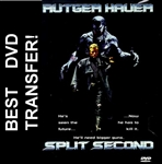 Split Second DVD 1992