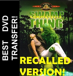 Swamp Thing DVD 1981