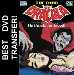 Marvel The Tomb Of Dracula DVD 1980