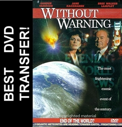 Without Warning DVD 1994