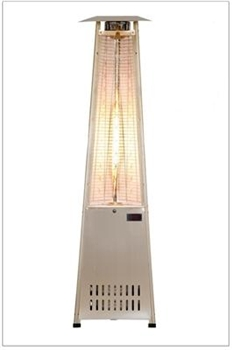 Commercail Stainless Steel  Flame Heater