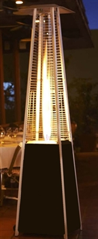 Hammer Bronze Finish Pyramid Heater