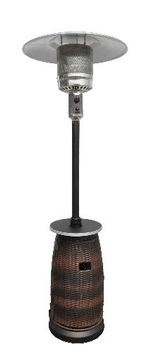 Resin Wicker Patio Heater with Table