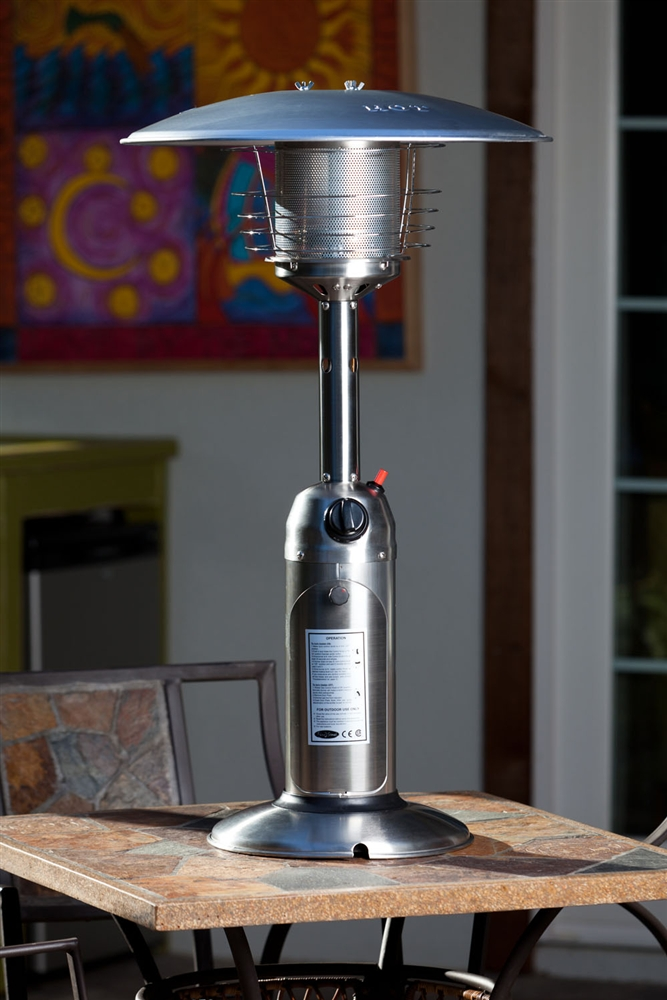 Stainless Steel Table Top Heater