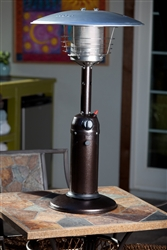 Table Top Portable Hammered Bronze Patio Heater