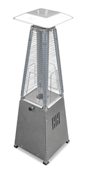 Table Top-Stainless Steel Finish Pyramid Heater
