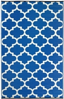 Fab World Collection -Tangier - Regatta Blue & White