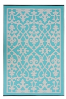 Fab World Collection -Venice - Cream & Turquoise