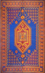 Mad Mats Oriental Turkish Blue