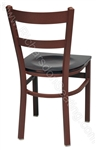 Wide Ladder Cafe Chair