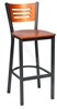 Three Slat Cafe Stool