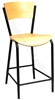 Lipped Cafe Stool
