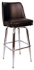 Economy Bucket Barstool - Chrome