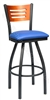 Cutout Slat Bow Stool