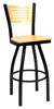 Three Slat Bow Stool